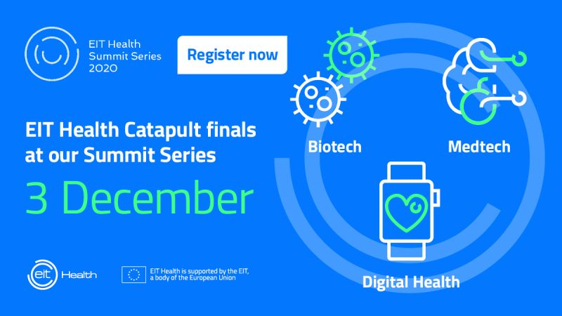 Gelmetix 3rd in prestigious EIT Health Catapult competition